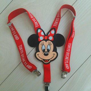 ディズニー(Disney)のミニーちゃん サスペンダー(ベルト)