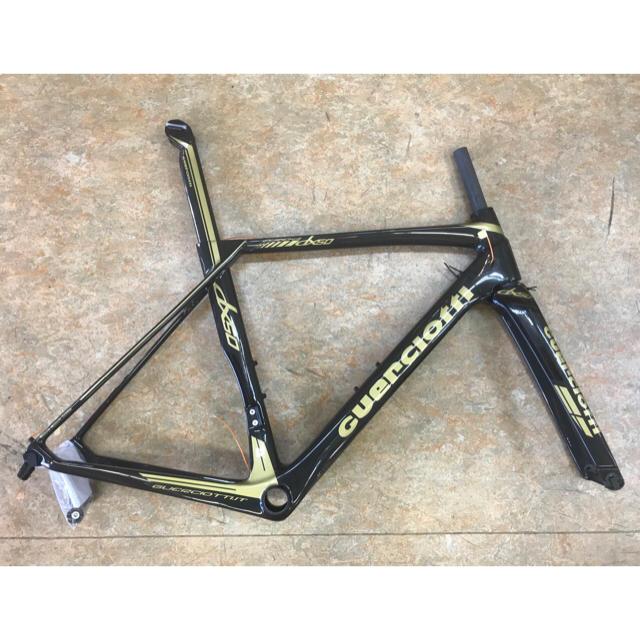 2018 グエルチョッティ『エウレカDX50カーボン』Mサイズ グレーゴールド スポーツ/アウトドアの自転車(自転車本体)の商品写真