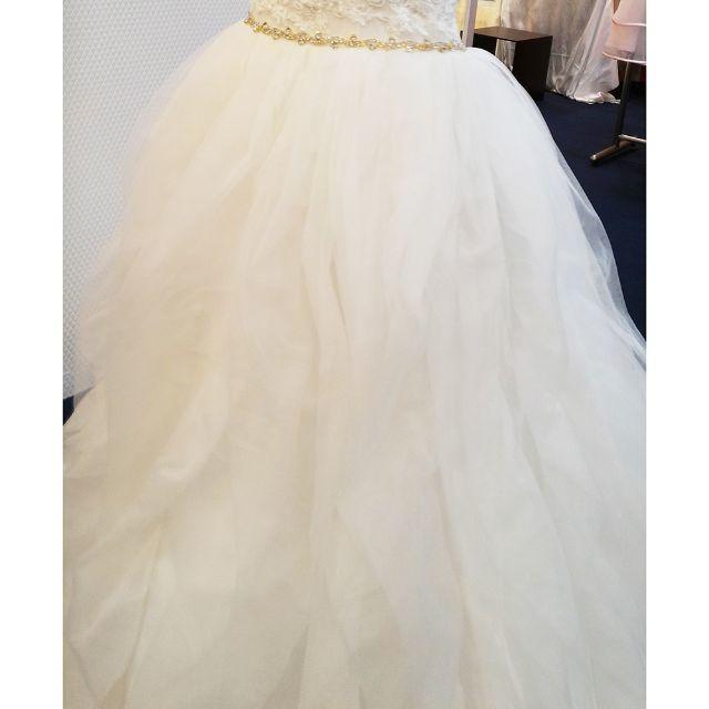 mami様 専用確認ページ スカート画像 レディースのフォーマル/ドレス(ウェディングドレス)の商品写真