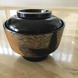 ヒロココシノ(HIROKO KOSHINO)のコシノヒロコ  吸椀  五客  漆塗装(食器)