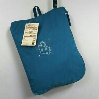 ムジルシリョウヒン(MUJI (無印良品))の新品  無印良品 キャリーオントートバッグ・大・アクアブルー(トートバッグ)