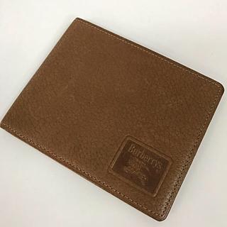 バーバリー(BURBERRY)のバーバリー サイフ 財布 札入れ カード入れ 定期入れ 折り財布 レザー 茶色(折り財布)