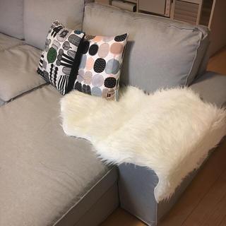 イケア(IKEA)のIKEA フェイクファー ラグ (ラグ)