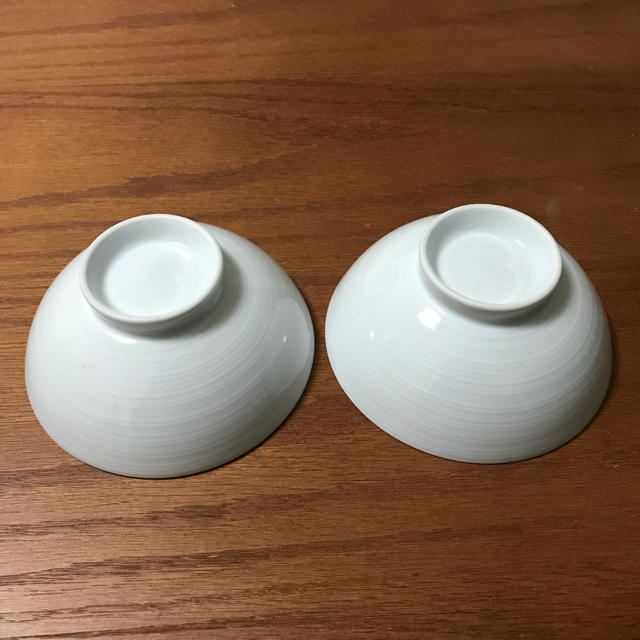 MUJI (無印良品)(ムジルシリョウヒン)の無印良品 白磁めし茶碗 大 2個セット インテリア/住まい/日用品のキッチン/食器(食器)の商品写真