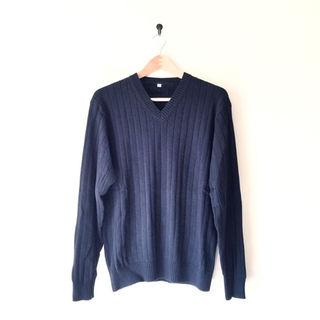 ムジルシリョウヒン(MUJI (無印良品))の無印良品 Vネックセーター(ニット/セーター)
