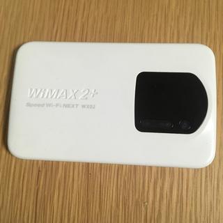エーユー(au)のポケット wifi au WiMAX 2 WX02(PC周辺機器)