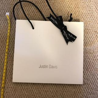ジャスティンデイビス(Justin Davis)のJustin Davis ショップ袋(ショップ袋)
