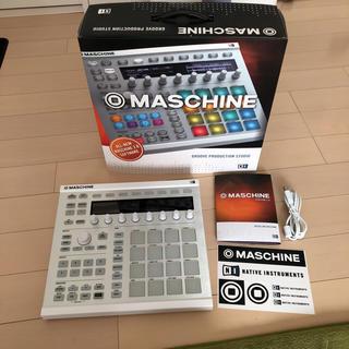 JONASON様専用-MASCHINE MK2  ホワイト オマケ音源付き ♪(MIDIコントローラー)