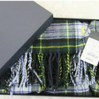 ラルフローレン(Ralph Lauren)の新品 箱付き Ralph Lauren 膝掛け ストール(ストール/パシュミナ)