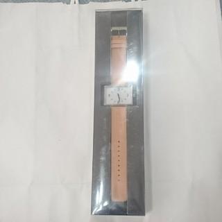 ムジルシリョウヒン(MUJI (無印良品))の新品未開封 無印良品 腕時計・駅の時計(腕時計)