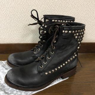 アッシュ(ASH)のASH 新品未使用 ブーツ スタッズ付 サイズ40 25センチ(ブーツ)