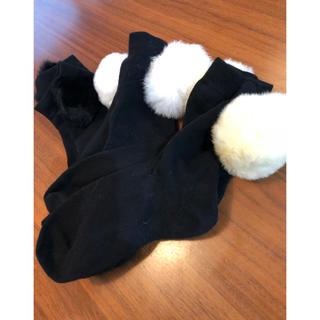 ザラ(ZARA)の靴下   ボンボン3色セット(ソックス)