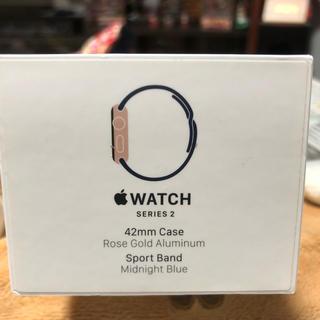 アップルウォッチ(Apple Watch)のApple Watch2 ピンクゴールド 42mm(スマートフォン本体)