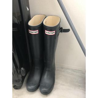 ハンター(HUNTER)のハンター レインブーツ(ネイビー)(レインブーツ/長靴)