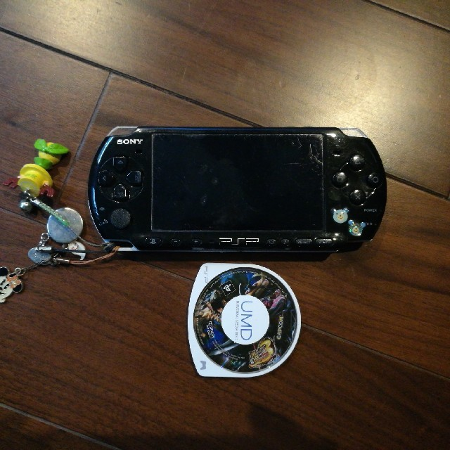PlayStation Portable(プレイステーションポータブル)のPSP、モンハン3rd エンタメ/ホビーのテレビゲーム(携帯用ゲーム本体)の商品写真