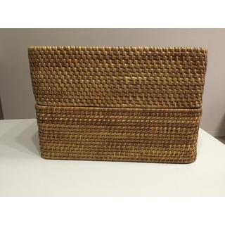ムジルシリョウヒン(MUJI (無印良品))の無印良品 カゴ  2セット(収納/キッチン雑貨)