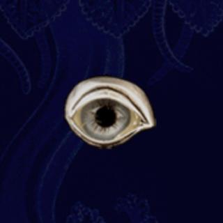 【新品】ブルーアイ ネクロマンス necromance 義眼リング(リング(指輪))