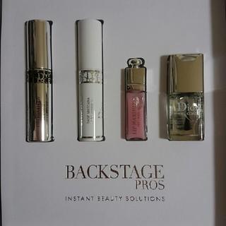 クリスチャンディオール(Christian Dior)のディオールバックステージラグジュアリーボックス(サンプル/トライアルキット)