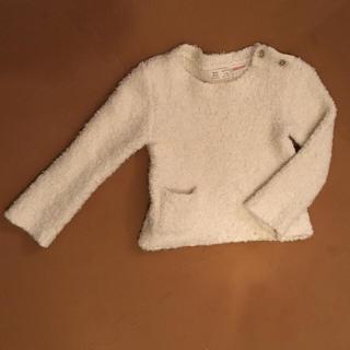 ザラ(ZARA)のZARA ポケット付きブークレーセーター(ニット/セーター)