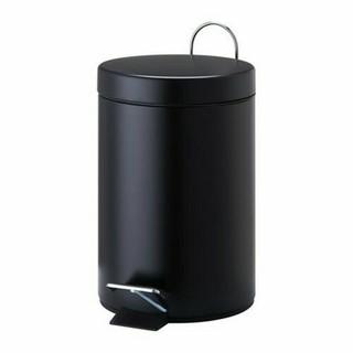 イケア(IKEA)のIKEA ペダル式ゴミ箱, ブラック,3 l(ごみ箱)