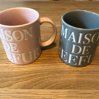 メゾンドリーファー(Maison de Reefur)のメゾンドリーファー ペア マグカップ(グラス/カップ)