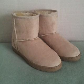 ムジルシリョウヒン(MUJI (無印良品))の無印 未使用 ムートンブーツ(ブーツ)