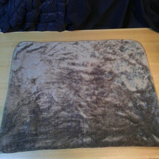 ムジルシリョウヒン(MUJI (無印良品))の未使用 無印良品 あたたかファイバー 軽量ブランケット ブラウン(毛布)