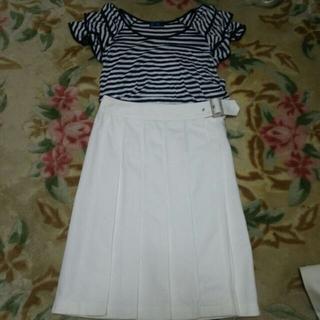 バーバリー(BURBERRY)のBurberry ラップスカート(ひざ丈スカート)