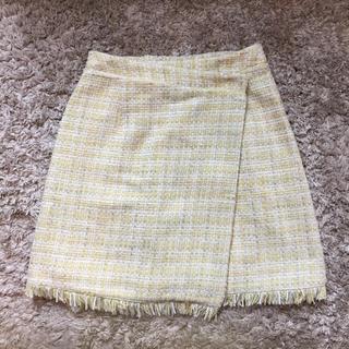 マーキュリーデュオ(MERCURYDUO)の新品未使用♡ マーキュリーデュオ 黄色ミニスカート Mercuryduo (ミニスカート)