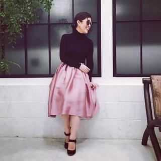 デミルクスビームス(Demi-Luxe BEAMS)の新品未使用  大草直子さん愛用 スカート(ひざ丈スカート)
