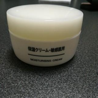 ムジルシリョウヒン(MUJI (無印良品))の無印良品保湿クリーム敏感肌用(乳液 / ミルク)