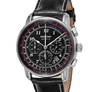 ツェッペリン(ZEPPELIN)の新品未使用 2年保証付き ZEPPELIN ツェッペリン ラウンド クロノグラフ(腕時計(アナログ))