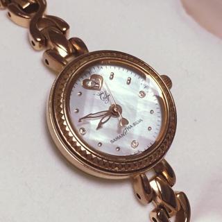 サマンサシルヴァ(Samantha Silva)の《あみ様専用》サマンサシルヴァ ピンクゴールド 時計 シェル(腕時計)