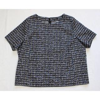 ニジュウサンク(23区)の23区 トップス & インディビ スカート セット 大きいサイズ(シャツ/ブラウス(半袖/袖なし))