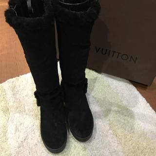 ルイヴィトン(LOUIS VUITTON)のルイヴィトン  ムートンブーツ  34  21.0  お値下げ(ブーツ)