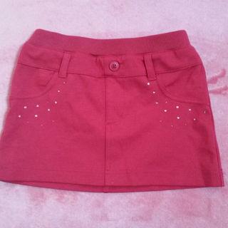 ジーユー(GU)のタイトスカート ボルドー 110(スカート)