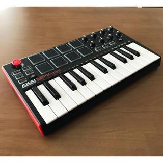 AKAI MPK mini MK2 MIDIキーボードコントローラー(MIDIコントローラー)