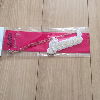 ジェニィ(JENNI)の2点目半額 新品 JENNI 新品 ネックレス ロゴ ゴールド(その他)