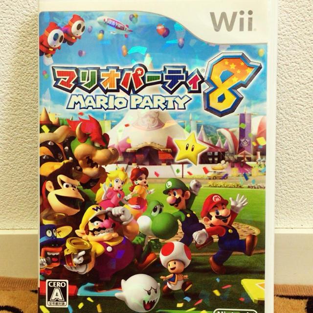 Wii(ウィー)のマリオパーティ8 エンタメ/ホビーのテレビゲーム(家庭用ゲームソフト)の商品写真