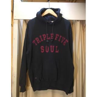 トリプルファイブソウル(555SOUL)のTRIPLE FIVE SOUL トリプルファイブソウル☆新品スウェットパーカー(パーカー)