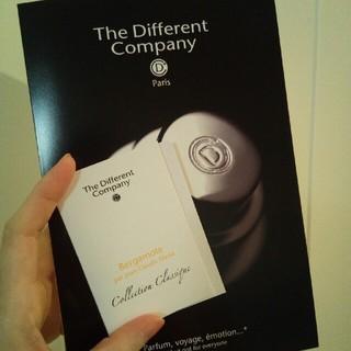 The Different Company ベルガモット オードトワレ(ユニセックス)