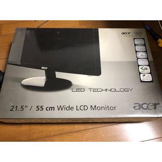 エイサー(Acer)のAcer 21.5型 モニタ(S221HQLbid)(ディスプレイ)