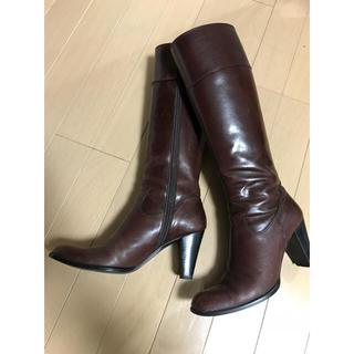 ダイアナ(DIANA)のダイアナ ロングブーツ 21.5センチ(ブーツ)