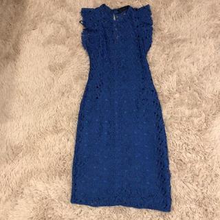 ザラ(ZARA)のzara♡レースタイトドレス(ひざ丈ワンピース)