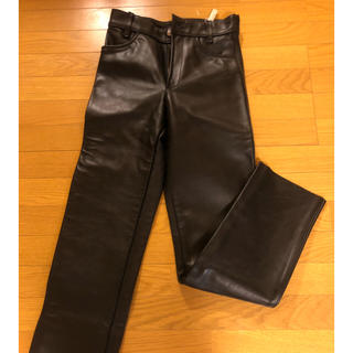 バンソン(VANSON)のvanson レザーパンツ ブラック 29ty(その他)