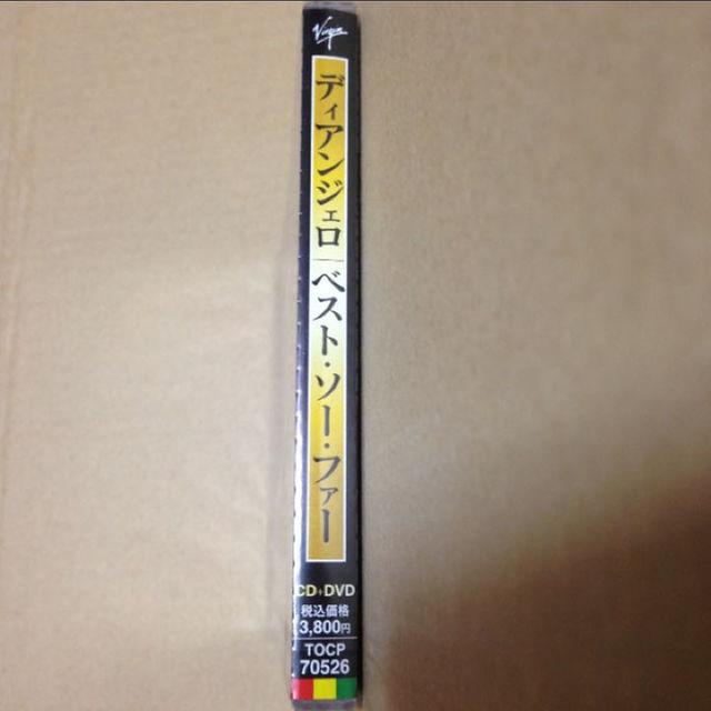【新品】『ベスト・ソー・ファー』ディアンジェロ エンタメ/ホビーのCD(R&B/ソウル)の商品写真