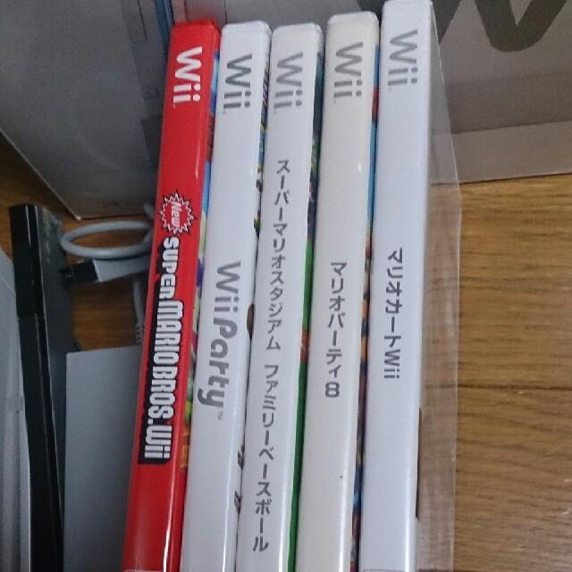 Wii(ウィー)の最終値引き早い者勝ちです。Wii本体セット マリオカートWii エンタメ/ホビーのテレビゲーム(家庭用ゲーム本体)の商品写真
