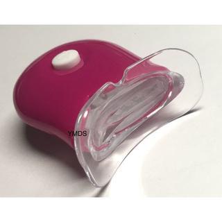 かわいいピンクの6灯式  強力なホワイトニングLEDライト。(その他)
