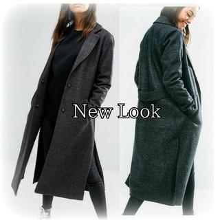 ニュールック(New Look)の美品 💓 New Look マキシ丈 ロング コート ウール混 大きいサイズ(ロングコート)
