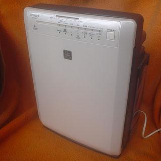 ヒタチ(日立)の★【送料無料/美品】日立 加湿空気清浄機 クリエア EP-GV65-W(加湿器/除湿機)
